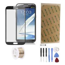 Samsung Galaxy Note 2 N7100 LTE Glas Scheibe Front Touch Glass  Schwarz