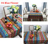 Boho Style Dining Table Cloth Rectangular Tablecloths Cover Kitchen Decoration