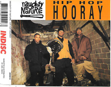 NAUGHTY BY NATURE - Hip hop hooray CDM 5TR (INDISC BELGIUM) 1993
