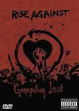 RISE AGAINST Generation Lost DVD BRAND NEW NTSC
