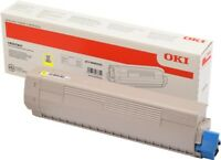 "Original OKI 46443101 ""High Yield"" Toner Gelb für OKI C833, C834, C843 Series"