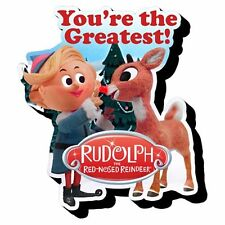 New Funky Chunky Magnet * Rudolph the Red-Nosed Reindeer and Hermey * Christmas
