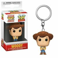 "TOY STORY WOODY 2"" POCKET POP KEYCHAIN VINYL FIGURE FUNKO UK SELLER"