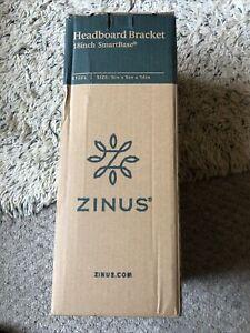 New Zinus Headboard Brackets Set of 2 for 18 inch Premium Smartbase Bed- Black
