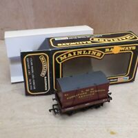 Mainline OO Gauge 1 Plank LMS Wagon + LMS Furniture Container 37433 Boxed