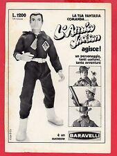 Pubblicità Advertising Werbung 1973 BARAVELLI L'amico Jackson Agisce