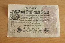 * IMPERO BANCONOTA 2 milione di Mark 1923 * (ord2)