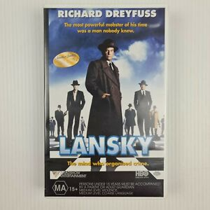 Lansky VHS Tape - Richard Dreyfuss - TRACKED POST