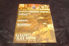 MA RAINEY'S BLACK BOTTOM 2021 Oscar ad Viola Davis, Chadwick Boseman, Glynn