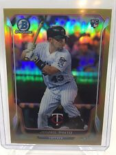 2014 BOWMAN CHROME GOLD REFRACTOR JOSMIL PINTO RC #'D 1/50 1st One!!