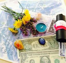 Blue MOON PAGAN Abundance spell ~ MONEY SPELL Spell kit~Wicca Witchcraft