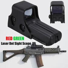 Venta caliente holográfica 552 Caza Rifle Scope Telescopio Rojo Láser Verde lugares de interés