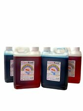 More details for classikool 4 x 2.5l slush puppy syrup set  2x red strawberry & 2x blue raspberry