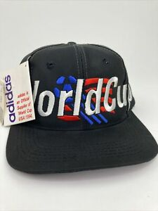 ADIDAS 1994 WORLD CUP OFFICIAL NATIONAL US TEAM HAT NWT Brand New NOS USA Flag