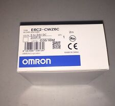 OMRON INDUSTRIAL AUTOMATION  E6C2-CWZ6C 200P/R 2M ROTARY ENCODER 5 - 24VDC
