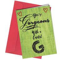 #41 VALENTINES or BIRTHDAY CARD Boyfriend or Girlfriend ADULT HUMOUR Funny Rude