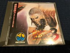 Fatal Fury 3 Road to the Final Victory Neo Geo cd Game complete