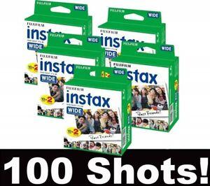 Fujifilm Instax Wide Pellicola Film 100 FOTO 20x5