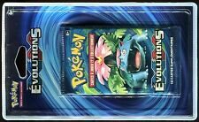 ① 1 BOOSTER CARTES POKEMON Neuf - EVOLUTIONS - FLORIZARRE (En Blister)