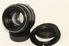 Helios-44-2 58mm f./ 2 Helios 44-2 2/58mm M42 Lens mount + Adapter for Nikon