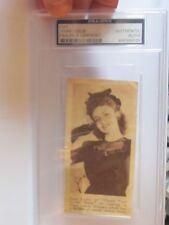 Joan Leslie PSA/DNA Certified Autograph Signed Clip Photo