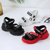 NEW Women's Sandals Platform Sliders Shoes Summer Beach Casual Slippers Shoes
