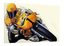 Kenny Roberts 30x20 Inch Canvas - LARGE Framed Picture Art Work Poster Yamaha