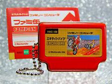 Nintendo Figure - 2006 Excite Bike Famican - Epoch NES Famicom Keychain Promo