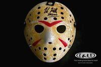Kane Hodder Signed Jason Voorhees Mask Friday the 13th JSA Witnessed