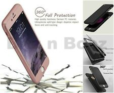 Case for iPhone 5 6 7 8 Plus XR XS Cover 360 Luxury Ultra Thin Shockproof Hybrid