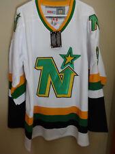 Mike Modano North Stars SIGNED jersey
