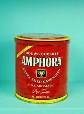 Vintage Amphora Round Tobacco Tin Douwe Egberts Utrecht Holland