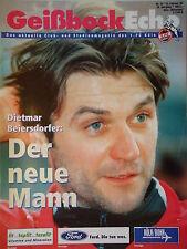 Programm 1995/96 1. FC Köln - Fortuna Düsseldorf