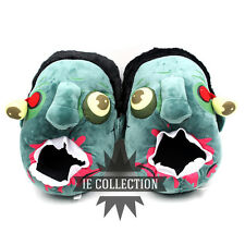 CIABATTE ZOMBIE pantofole zombi monster chaussons peluche slippers walking dead