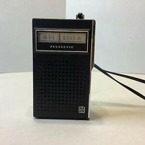 Vintage Panasonic Transistor AM Radio R-1070