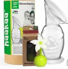 Haakaa Breast Pump 150ml Flower Stopper Food Grade Silicone BPA PVC Gen 2 Baby B