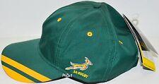 BNWT - Springboks Cap South Africa Springboks Rugby Cap Hat - Green