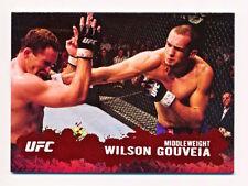 2009 Topps UFC Round 2 Wilson Gouveia Ruby Parallel #73 (6/8)