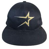 Vintage Original 1990s Houston Astros SNAPBACK CAP HAT Buffalo Cap - Blemish