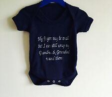 Grandma & Granddad Baby Grow,Onesie,Outfit,Bodysuit Newborn Personalised Gift