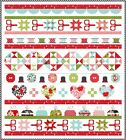 LITTLE+SNIPPETS+Quilt+Kit+-+Moda+Fabric+%2F+Sewing+Notions+prints+%2B+Quilt+Pattern
