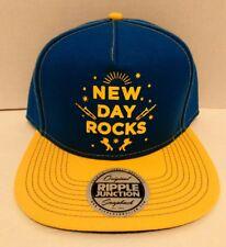 premium selection 61d26 04622 New Day Rocks Original Ripple Junction Snapback Hat Cap WWE NWT