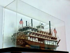 Teca per modellini (navi, barche ecc.) in plexiglass cm. 80 x 30 x H. 50