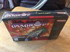 Arkanoid Brand New & Factory Sealed H-Seam Super Nintendo SNES Complete Game