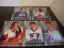1997-98 Studio Hockey---Portraits---Lot Of 5---All 8x10's---#4-9-10-18-33---NrMt