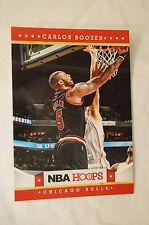 NBA CARD - Hoops - Panini Series - Carlos Boozer - Chicago Bulls.