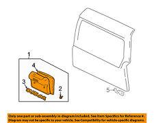 SUZUKI OEM 04-06 XL-7 Back Door-License Plate Panel 8393065D10NP6