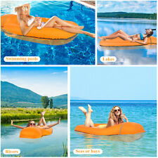 More details for inflatable water lounger mat bed swimming pool beach float summer holiday uk