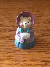 Hallmark Merry Miniature Christmas Caroling Bear Figurine