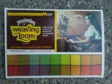 Vintage Yarnbenders Weaving Loom 15 Inch with Instructions